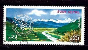Nepal 549 Used 1994 World Food Day
