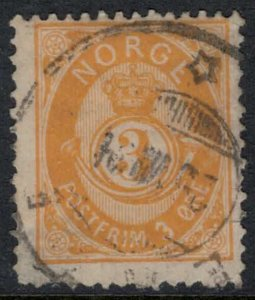 Norway #38  CV $12.50