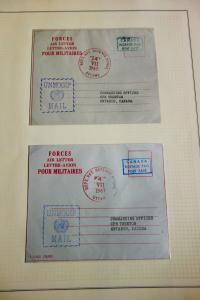 Canada Forces Air Letter for UNMOGIP Mail Scarce