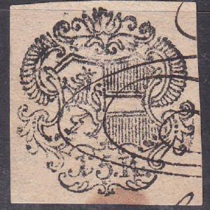 Austria - Hungary 1700's Revenue documentary Stamp 1791 Maria Theresa Used cut