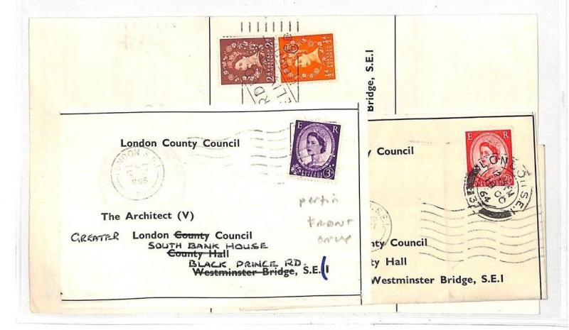 LL166 1965 GB WILDING London County Council Group Covers{3} INCL PERFIN Contents