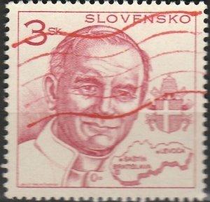Slovakia, #216  Used , From 1995,  CV-$0.25