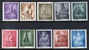 Spain 804-813 MNH VF