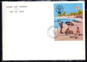 NIGER -1982 75th Anniversary World Scouting FDC