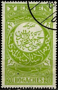 Yemen; 1931: Sc. # 21: O/Used Single Stamp
