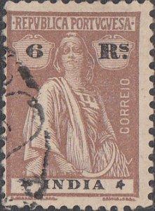 Portuguese India #375Q Used