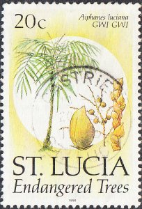 St. Lucia    #955    Used