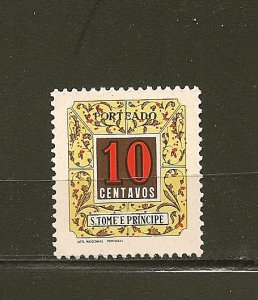 St Thomas and Prince Islands J52 Postage Due MNH