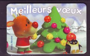 J20495 Jlstamps 2006 france set mnh complete bklt #3266a holiday greetings