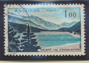Andorra (French Administration) Stamp Scott #153, Used - Free U.S. Shipping, ...