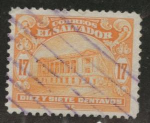El Salvador Scott 437 Used from 1916 set