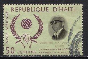Haiti Air Mail 1966 Scott# C266 Used