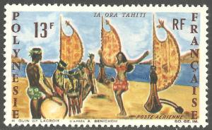 FRENCH POLYNESIA SCOTT C44