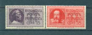 Italy sc# D15-16 (1) mnh cat value $1.50