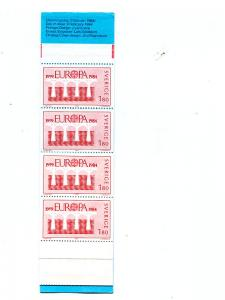 Sweden 1984  Europa booklet  Mint VF NH - Lakeshore Philatelics