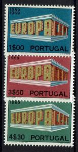 Portugal - SC# 1038 - 1040 - Mint Light Hinged - 043017
