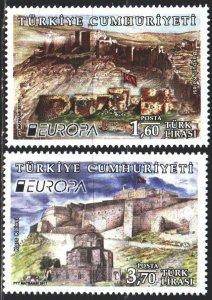 Turkey. 2017. 4278-79. Castles, Europe-Sept. MNH.
