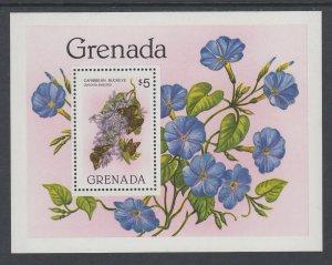 Grenada 1097 Flowers Souvenir Sheet MNH VF