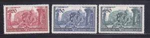 Liechtenstein 154-156 Set MHR Prince Franz Joseph II