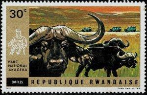 Rwanda 1972 Wild animals MNH