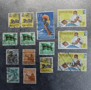 TANGANYIKA  Stamps  GB   1961    ~~L@@K~~
