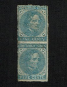 CSA Scott #7 Fine-unused. SCV - $50.00