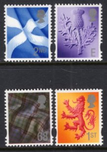 Great Britain Scotland 20-23 MNH VF