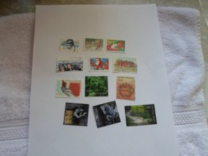 FINLAND STAMPS LOT OF 12 STAMPS MIXED CON # 1