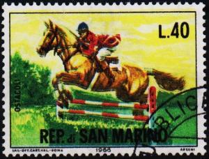 San Marino.1966 40L S.G.790 Fine Used
