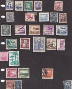 CHILE ^^^^mint & used collection on page ( some  Airposts )   $$ @@ ta 434chile