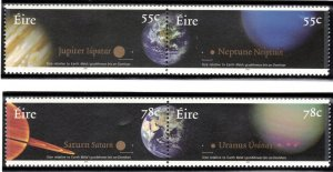 (CMA) Ireland Scott #1719-22 MNH Complete Set w/ Attached Pairs