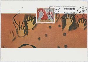 32256   MAXIMUM CARD - POSTAL HISTORY - Spain: Archaelogy, Art, 1967