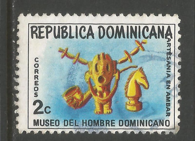 DOMINICAN REPUBLIC 713 VFU 944D-2