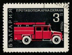 Fire engine, Bulgaria, 3ct (TS-106)