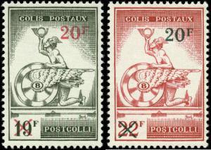 Belgium Scott #Q371-#372 Complete Set of 2  Mint