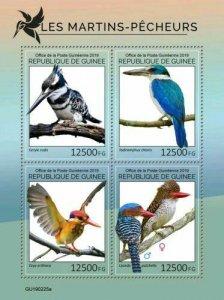Z08 IMPERF GU190225a GUINEA (Guinee) 2019 Kingfishers MNH ** Postfrisch