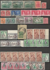 COLLECTION LOT OF #1767 JAMAICA 45 STAMPS 1919+ CLEARANCE