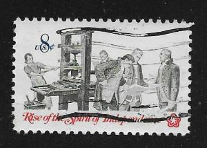 SC# 1476 - (8c) - American Bicentennial, printer, used