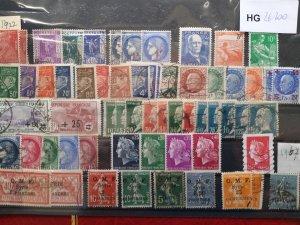 Lot France 1922-1967 used/unused CV.€ 100