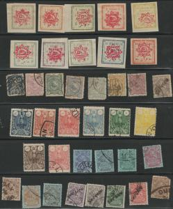 Persia postage stamp collection **- with updates
