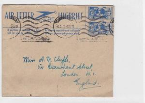 SOUTH AFRICA AIR LETTER 1945 REF R 1335