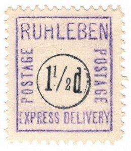 (I.B) Germany Cinderella : Ruhleben POW Camp 1½d