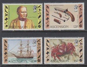 Ascension 305-308 MNH VF