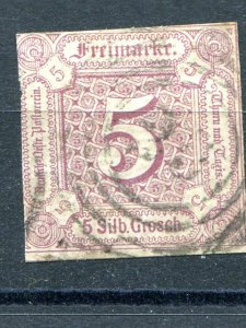 Thurn & Taxis  #16  Used F-VF  -  Lakeshore Philatelics