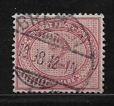 Germany Sc. # 36 / Mi. #37 Used L26