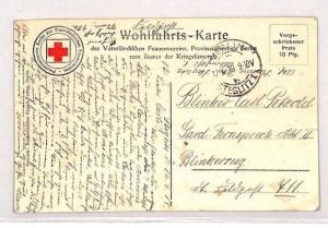 BN210 1918 Germany WW1 RED CROSS *Steglitz* Postcard PTS