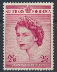 Southern Rhodesia  SG 77  SC# 80 Mint  trace of Hinge  see scans and details