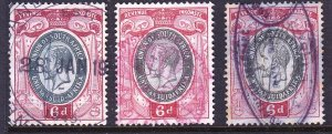 South Africa - Revenues - 1913 - KGV
