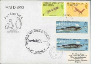 British Antarctic Territory #136, Antarctic Cachet and/or Cancel