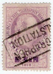 (I.B) Austria Telegraphs : State Telegram 2fl